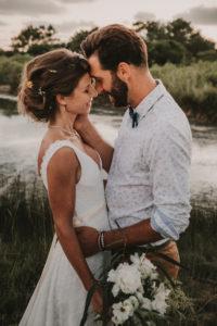 Mariage Bassin d'Arcachon prés salés