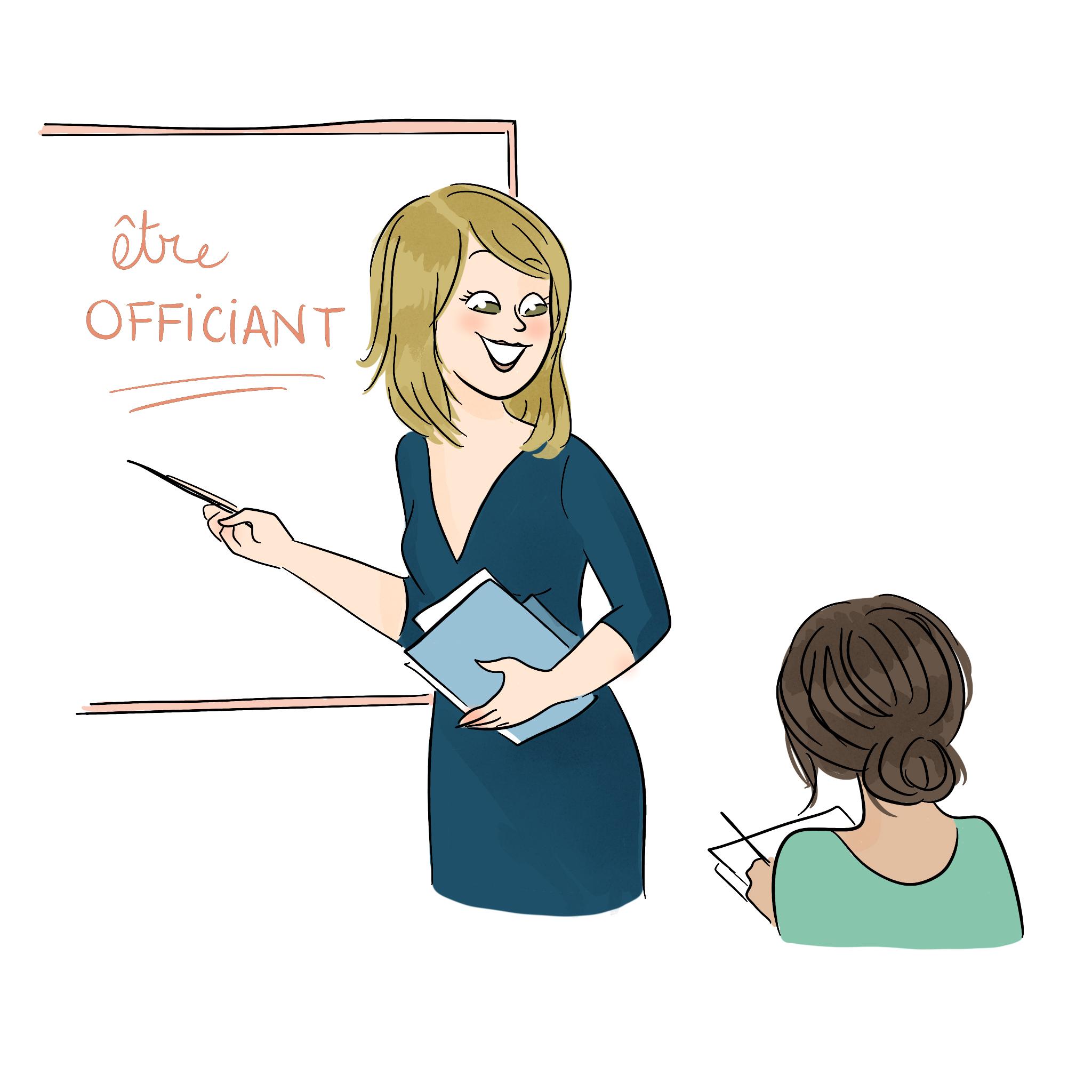 2. Juste un chapitre pour Accompagner votre officiant