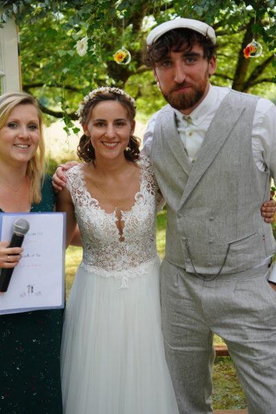 Mariage engagement union symbolique laïque familial