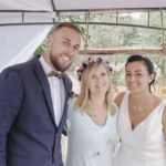 Cérémonie mariage, engagement homme / femme